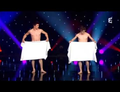 French Towel Dancers Reveal Almost All