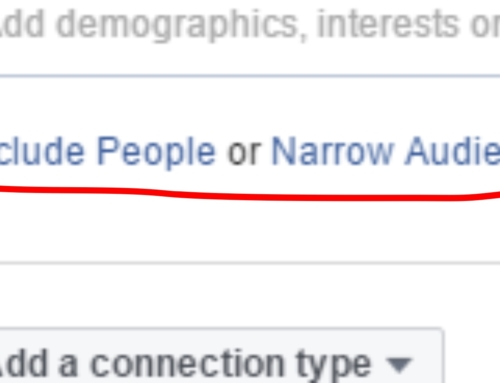 Narrow Facebook Ad Targeting
