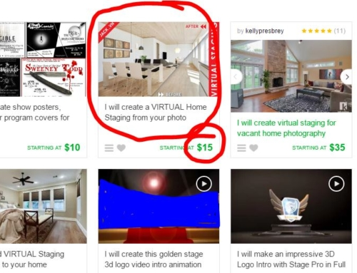 Virtual Staging for Real Estate Super Cheap